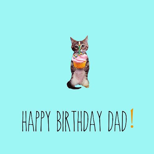Dad - cupcake cat