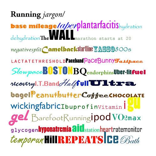 running - running jargon