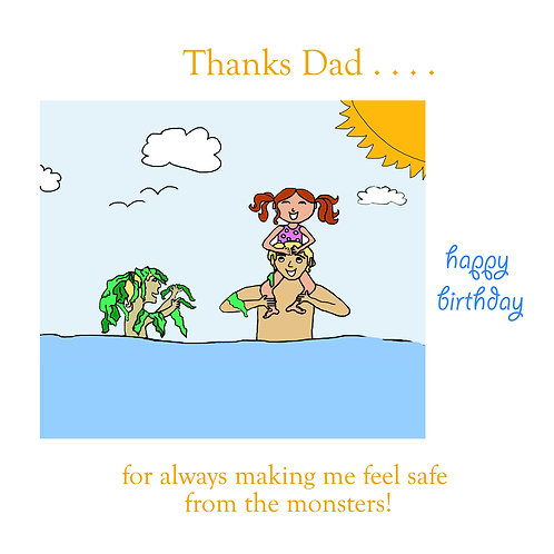 Dad - monsters