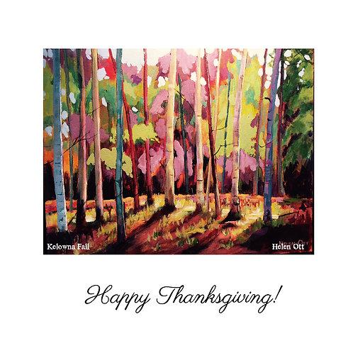 Thanksgiving - Kelowna fall (Helen Ott)