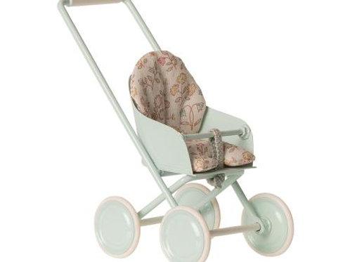 Stroller (micro) - soft blue