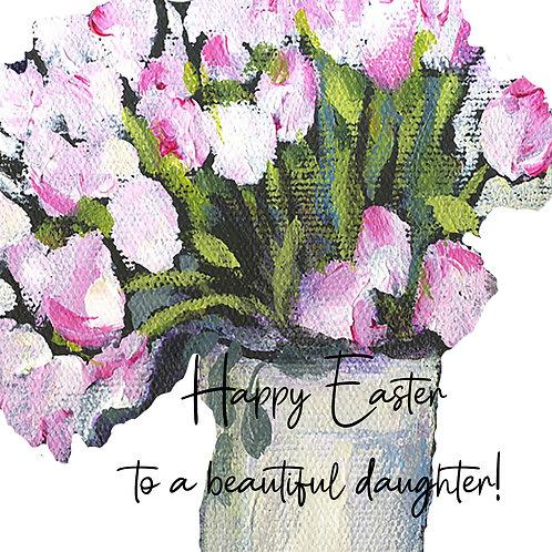 Easter - beautiful daughter