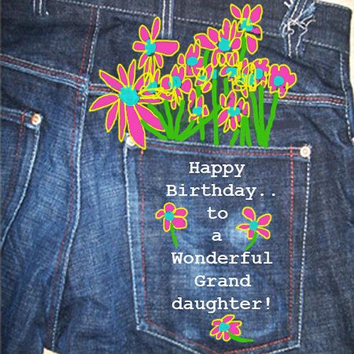 Daughter - jean pocket
