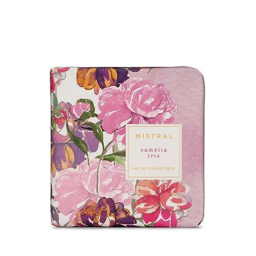 Mistral Exquisite florals Camelia Iris petite gift soap