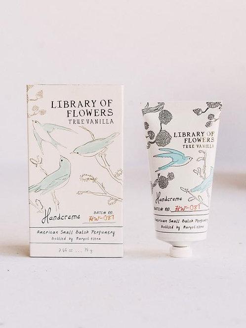 Library of flowers - True Vanilla hand creme