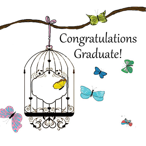 Grad - butterfly cage