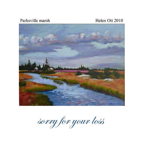 sympathy - Parksville marsh (Helen Ott)