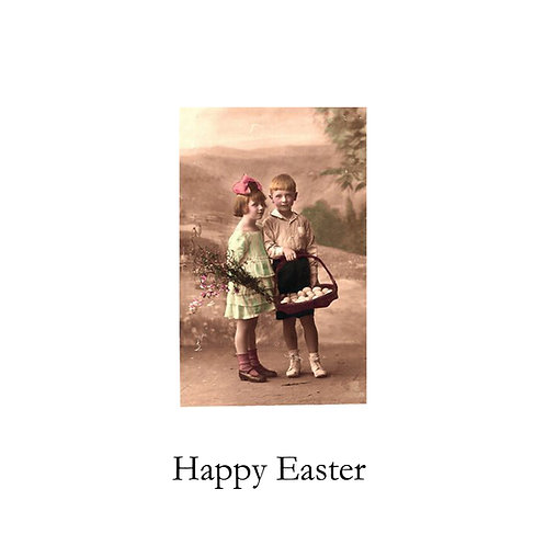 Easter - vintage kids