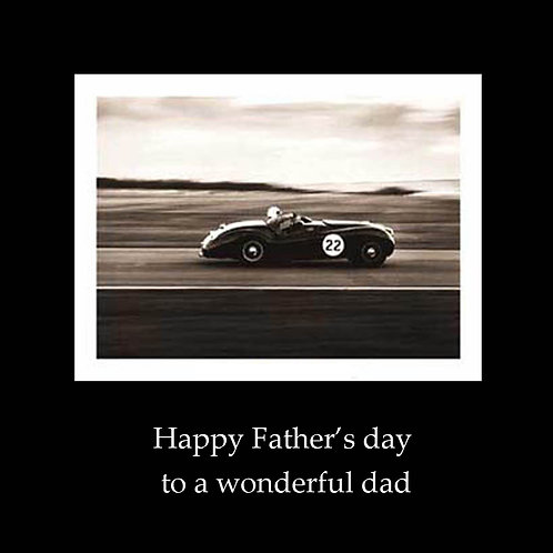 Father's day - race car