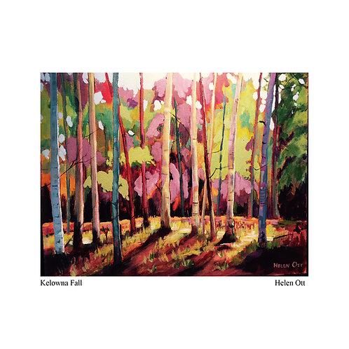 Kelowna Fall - Helen Ott