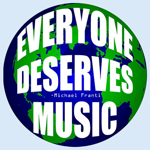 Michael Franti -everyone deserves music