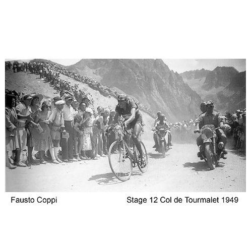 Fausto Coppi - 1949 Col du Tourmalet