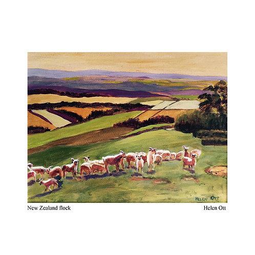 New Zealand flock - Helen Ott