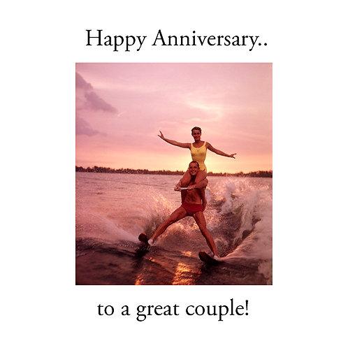 Ann. to couple - waterski couple