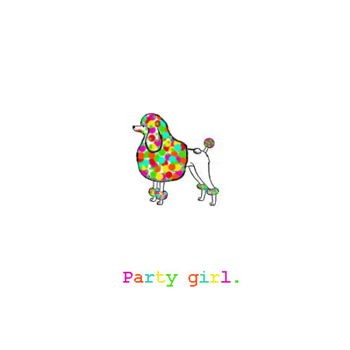 party girl poodle