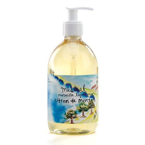 Citron de menton Sur la route liquid hand soap
