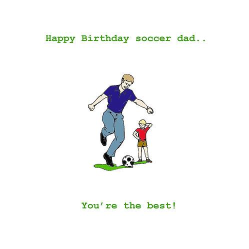 Dad- soccer dad