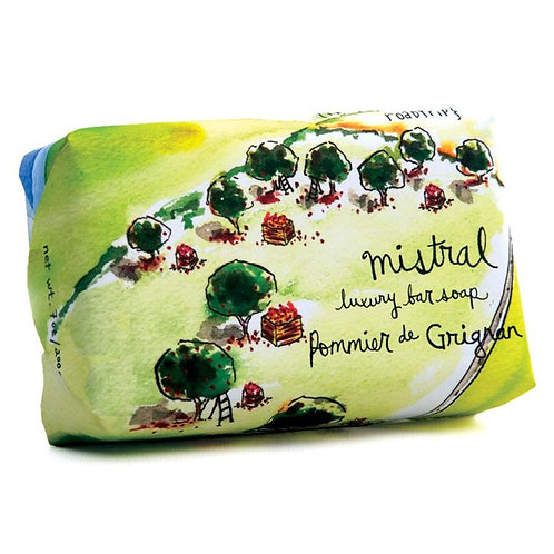 Grignan apple sur la route soap