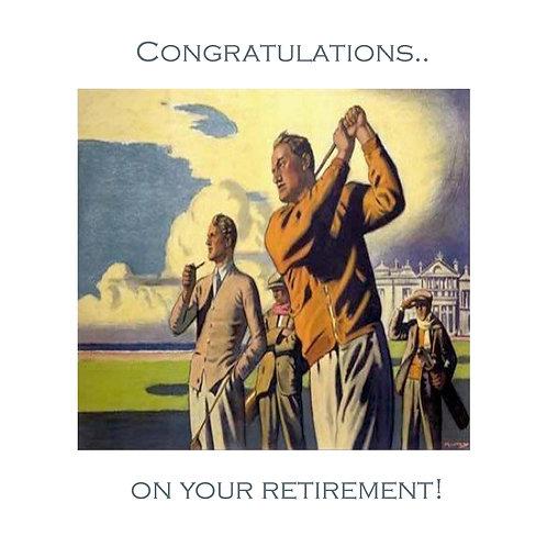 retirement - St. Andrews 60s golf