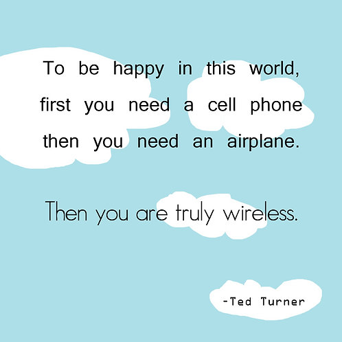 Ted Turner - wireless