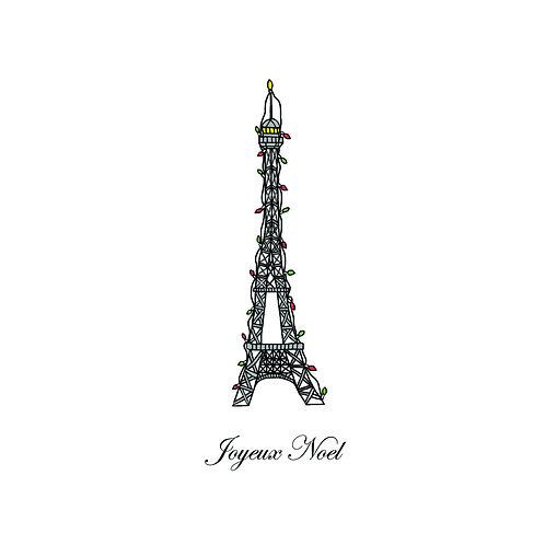 Christmas Eiffel