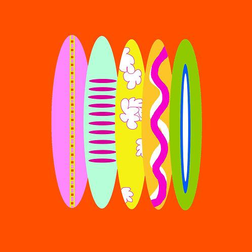 surf - orange