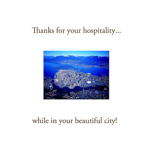 thanks - beautiful city Vancouver