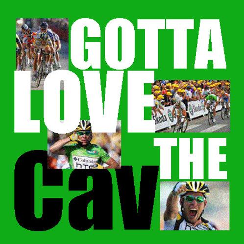 cycling - gotta love the Cav