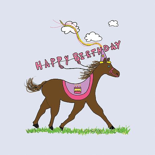 birthday horsey
