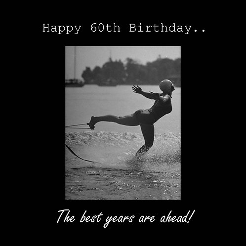 60th water ski babe