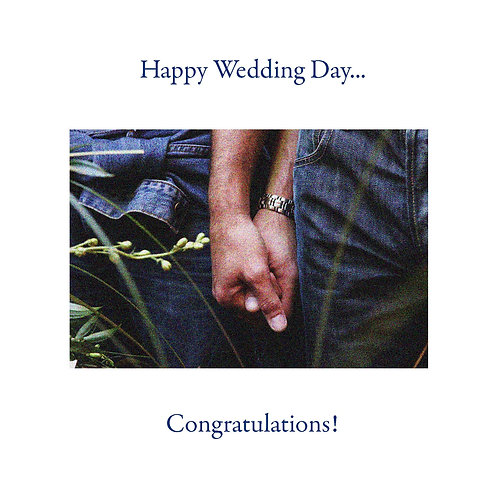 same sex wedding - hands