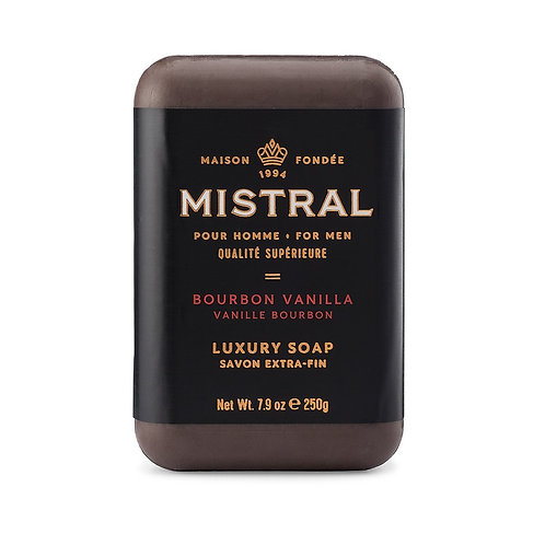 Mistral Bourbon Vanilla Men's soap