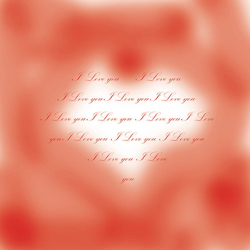 Valentines - romantic blurry heart
