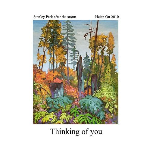 sympathy (thinking of you) - Stanley park (Helen Ott)