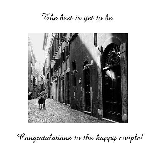 wedding - couple in Europe