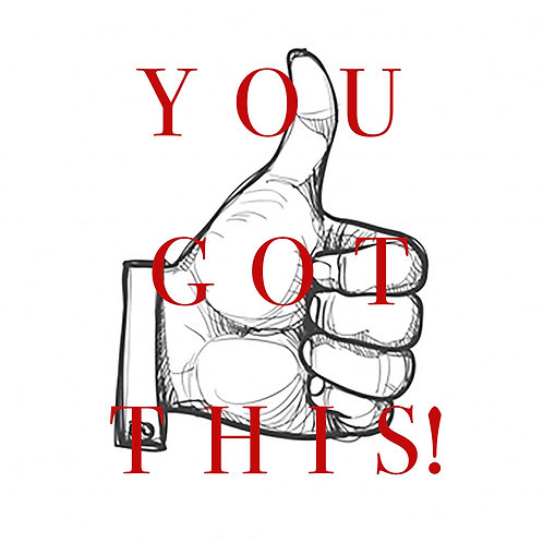 Thumbs up You got this