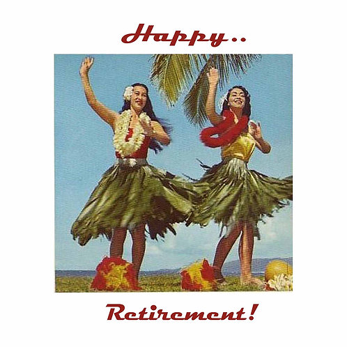 retirement - hula babes