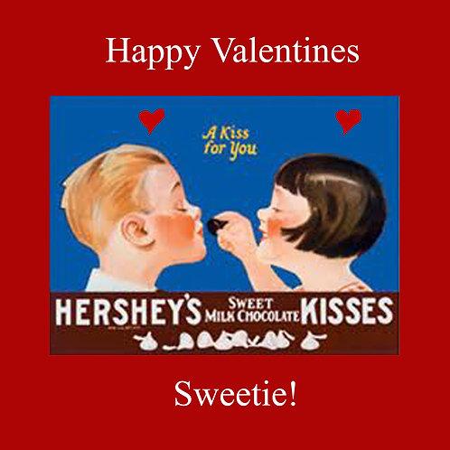 Valentines - Hersheys kisses