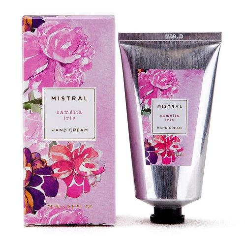 Mistral Exquisite florals Camelia Iris hand creme