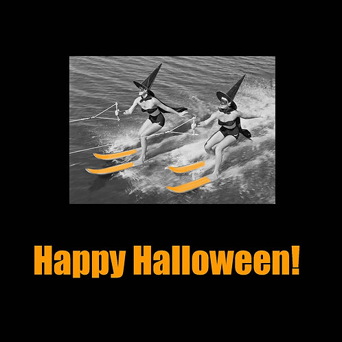 Halloween -Waterski Witches