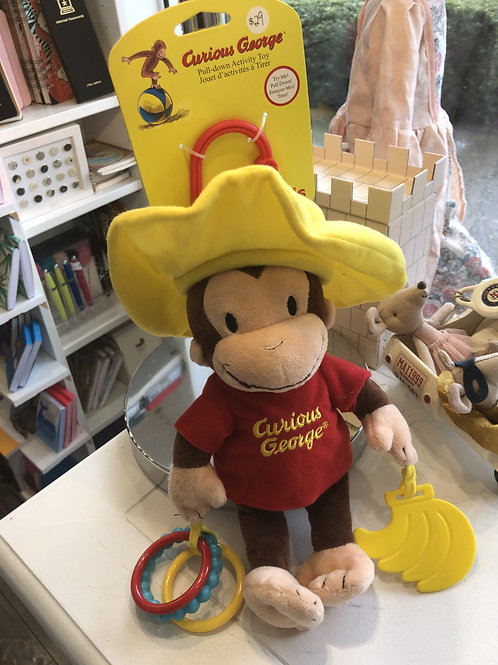 Curious George Developmental Activity toy