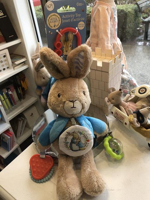 Peter Rabbit activity toy