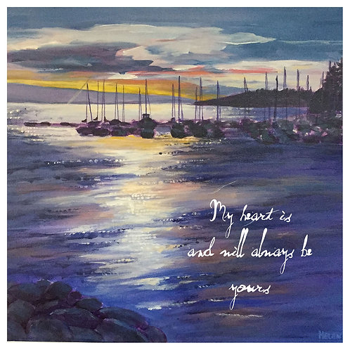 my heart is yours -(Eagle Harbour by Helen Ott)