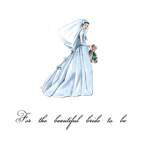 wedding shower -beautiful bride
