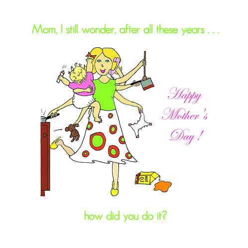 mother's day - 8 arms