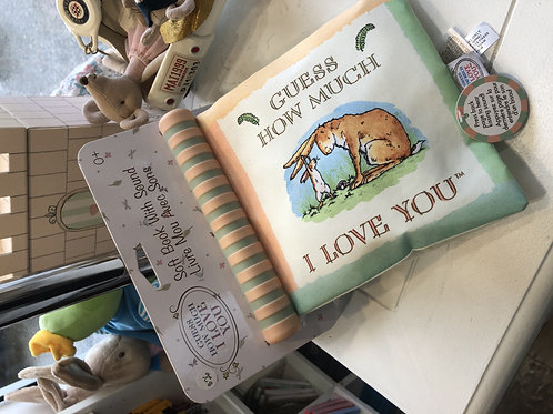 Guess how much I love you soft book