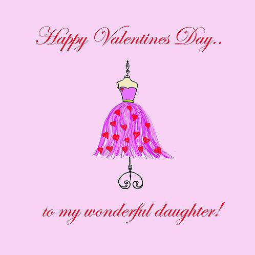 Valentines - dress form daughter