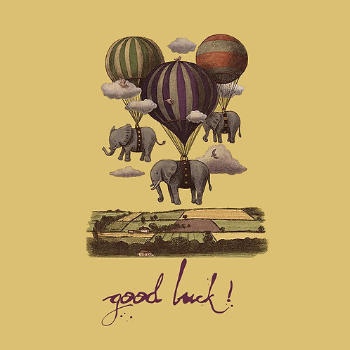 Good luck - parachute elephants