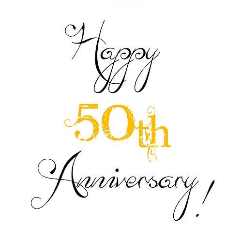 milestone Ann. -50th