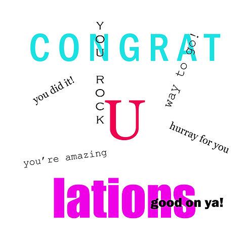 Grad - Congratulations
